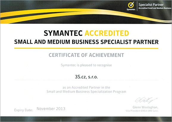 symantec accredited